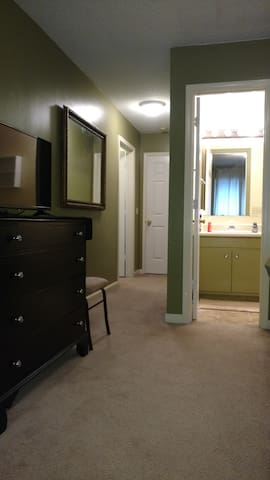 Suite includes private bathroom and refrigerator