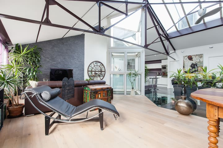 Amazing Duplex-Loft of 1600ft2  - Nanterre - Loft