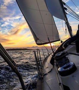 Yacht In Gozo's Scenic Harbour :) - Għajnsielem