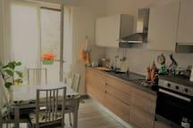 cucina kitchen area