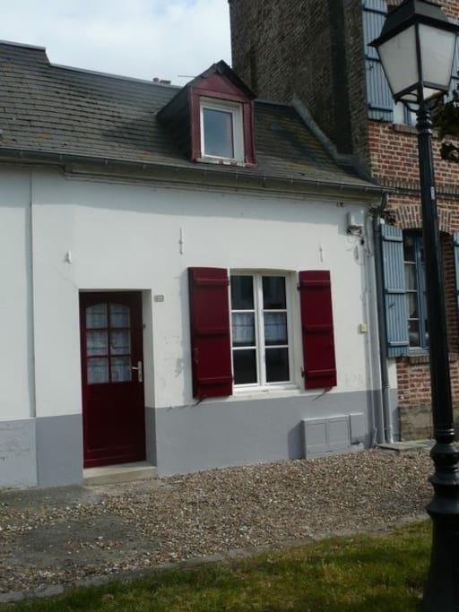 Escale en baie de somme maisons louer saint valery for Baie de somme location maison