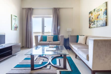 Modern Living In This 2BR Apt In The Heart of Downtown Jebel Ali - Sleeps 4!