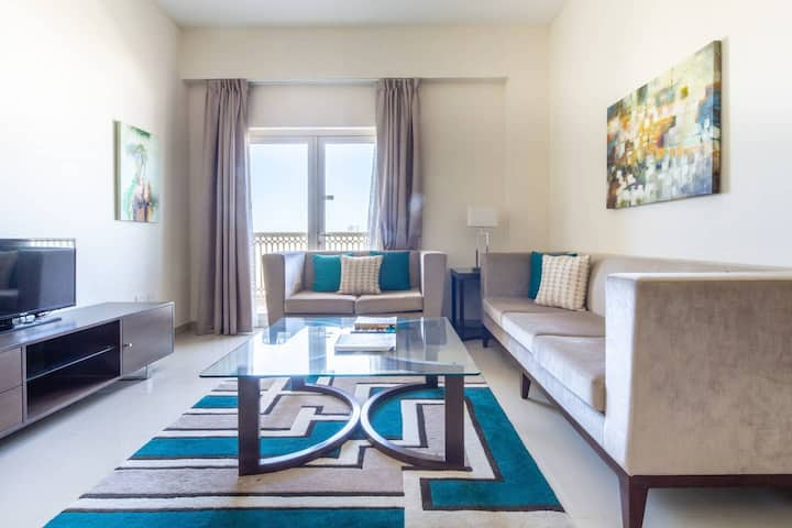 Modern 2BR Apt In The Heart of Downtown Jebel Ali
