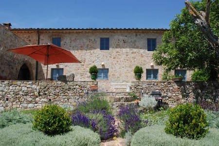 Le Porciglia- Exclusive Décor & Exceptional Views - Province of Siena - Villa