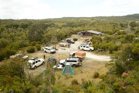 Yeagarup Hut - a 4WD Group Private Campground - Pemberton