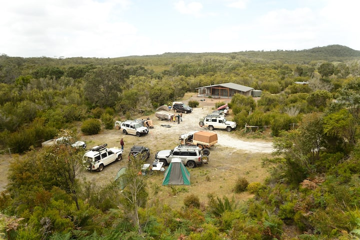 Yeagarup Hut - a 4WD Group Private Campground