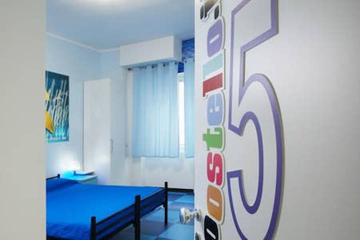 male dormitory with en-suite bathroom