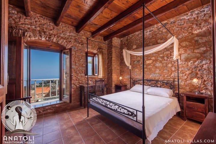 Ariadni Traditional Stone Villa - Anatoli - Apartemen