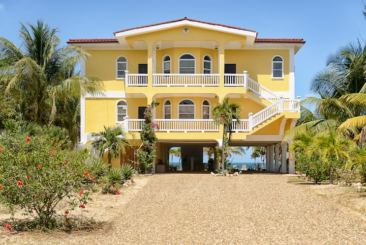 Belize Beach Condos - Beautiful Home+Private Beach