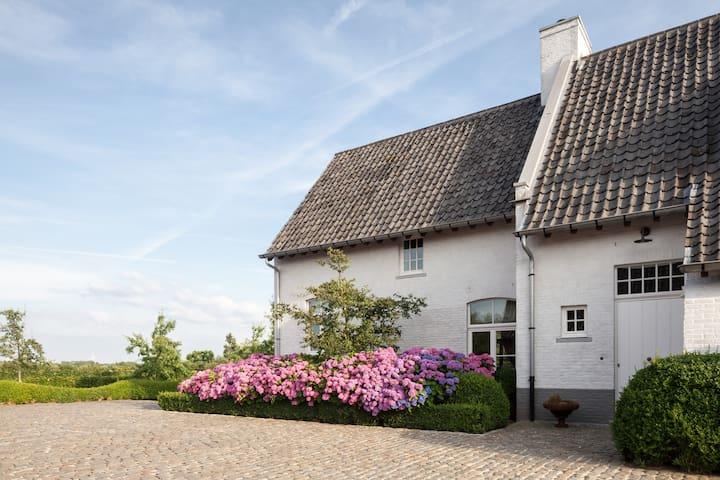 Logeren in stijl, in een groene omgeving