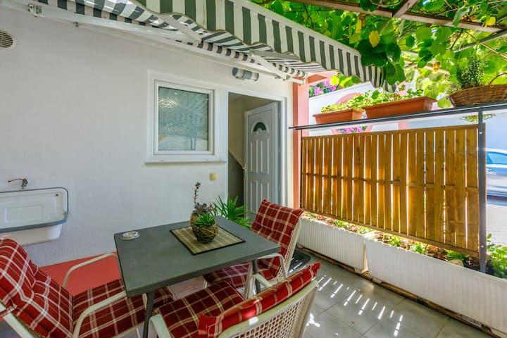 Studio Apartment, in Crikvenica, Terrace