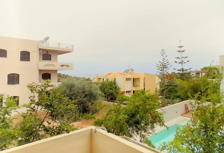 cosy apartment,Chania Kalathas No4