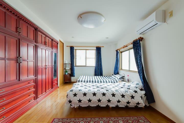 大阪市内带露天阳台的舒适别墅 190平方整栋出租