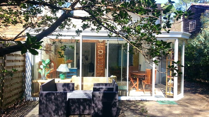 House with 2 bedrooms in Arcachon, with enclosed garden - 800 m from the beach