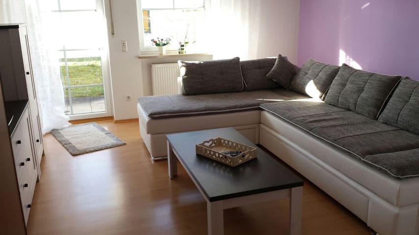 Wohnung 65m², ruhig, hell, gute Verkehrsanbindung - Langweid am Lech - Leilighet