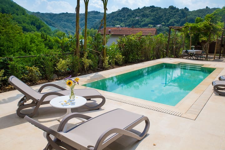 Tuscan Villa, private pool, 2 mins from centre