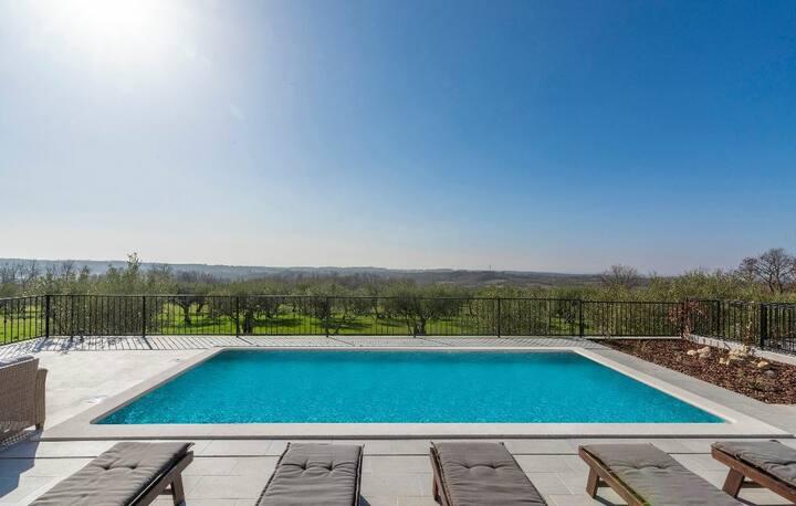 Villa Nensi sa pogledom na more