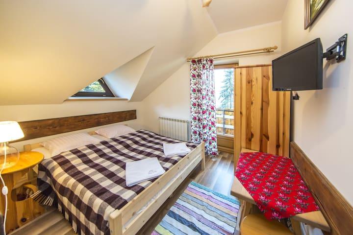 Przytulny i elegancki pokój w Białym Dunajcu - Biały Dunajec - Casa de campo