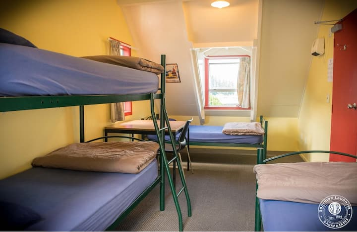 4 Bed Dorm with Shared Facilities