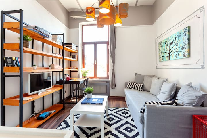 Modern and Authentic Flat in the Centre | B9