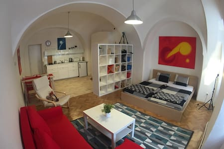 Romantic flat in the heart of town