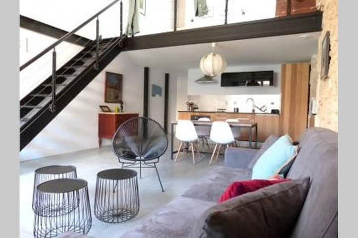 Loft- Quartier Gambetta - Montpellier - Loft