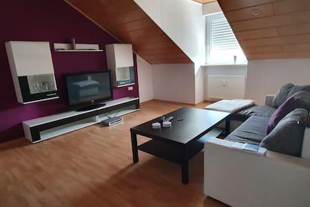 gemütliche Dachgeschosswohnung für 2 Personen