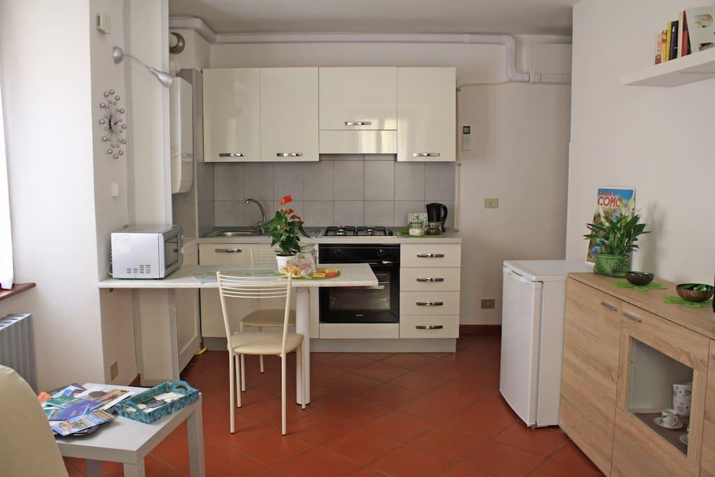 Open-space cucina