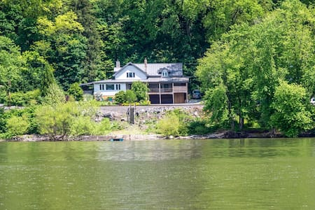 The Family Home on the Lake - Pequea - Naturhytte