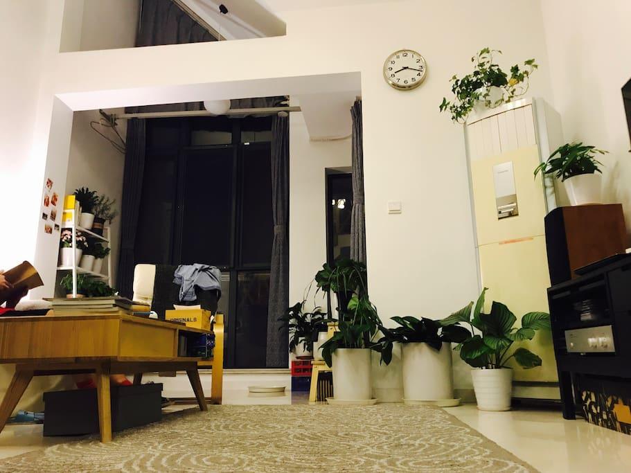 客厅,内阳台