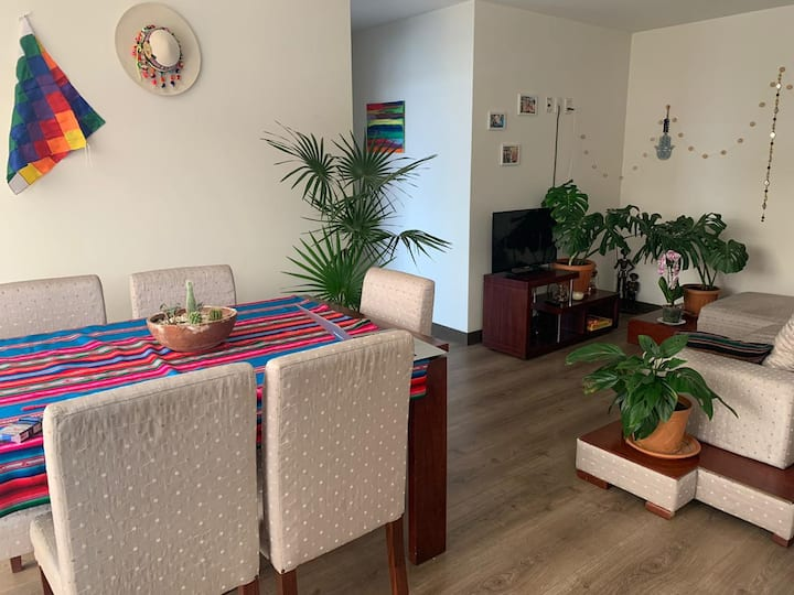 Apartamento tropical!