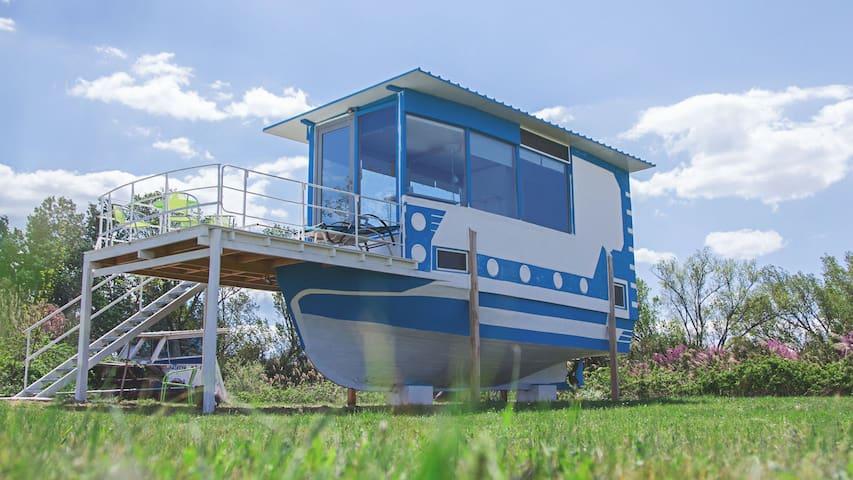 Hausboot am Meer für Individualisten