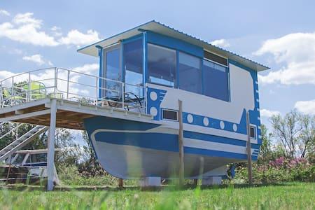 Hausboot am Meer Alkyona Beach - deine Ruheoase