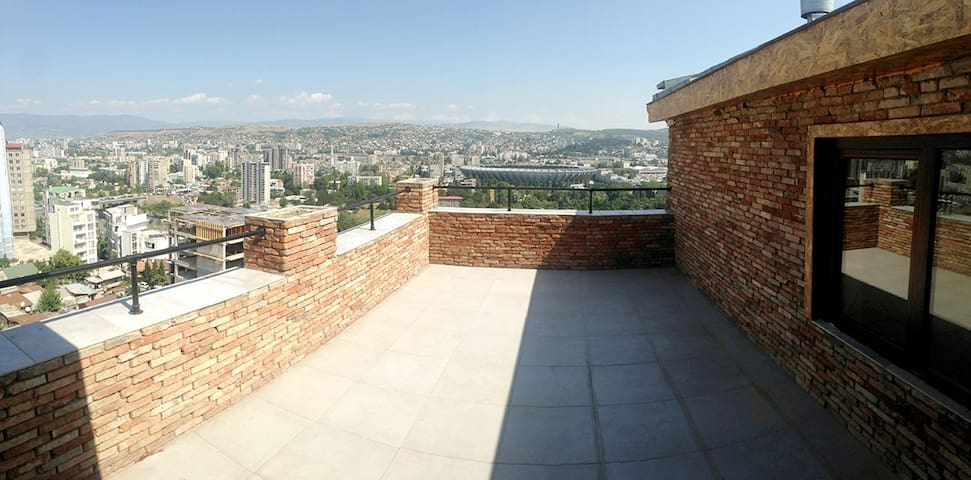 Penthouse in the center of Tbilisi