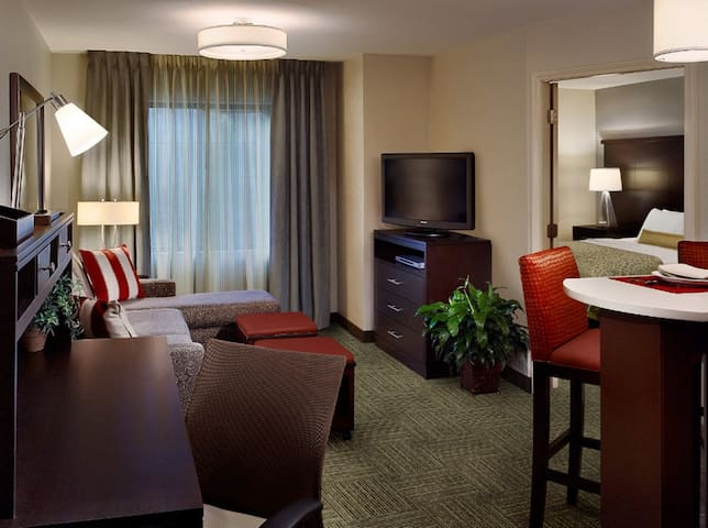 Hearing Accessible Suite | Buffet Breakfast, Indoor Pool Access + 24h Business Center