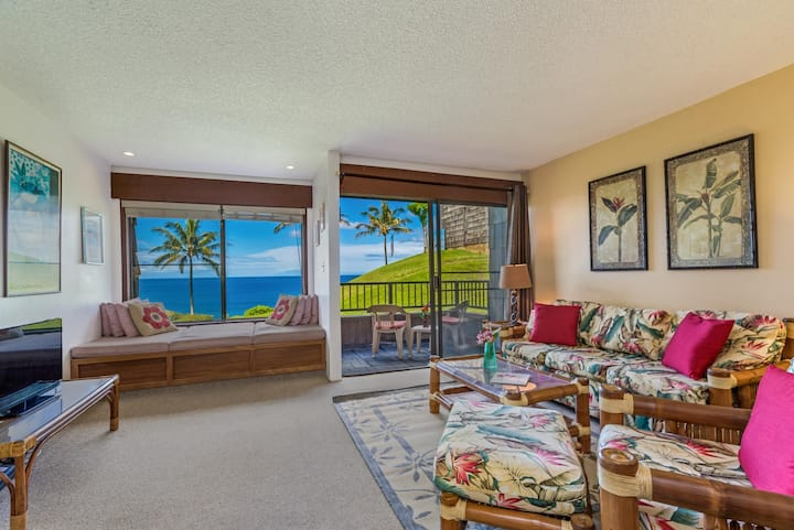 Sealodge B6-Second floor condo, amazing ocean view, private lanai