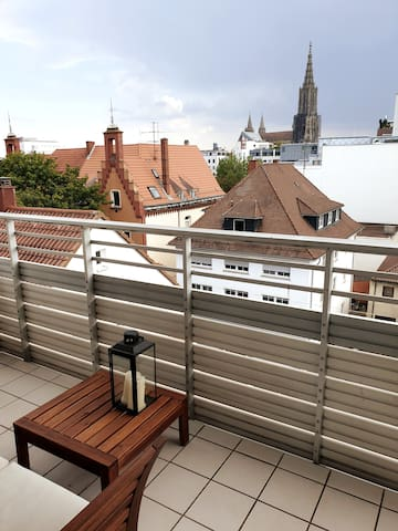 Whole appartement with great view on the Münster