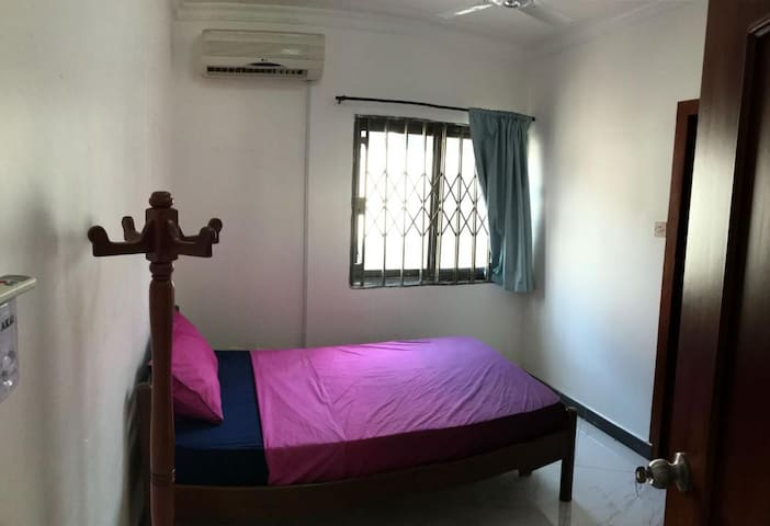Bedroom with air condition