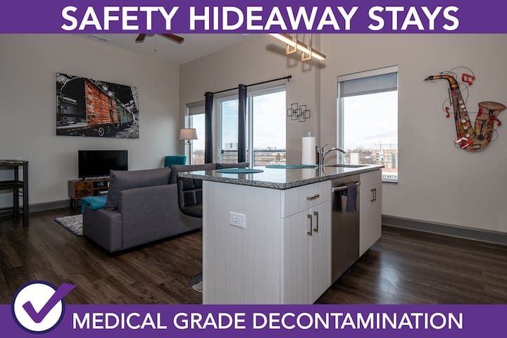 Safety Hideaway - Medical Grade Clean Home 6