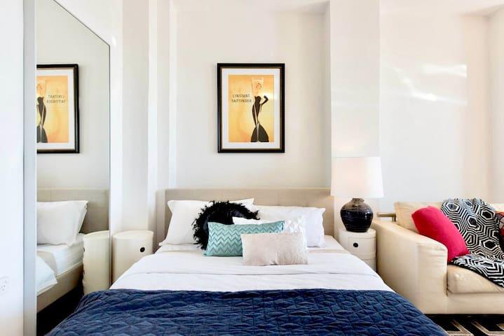 Lux sleeping area