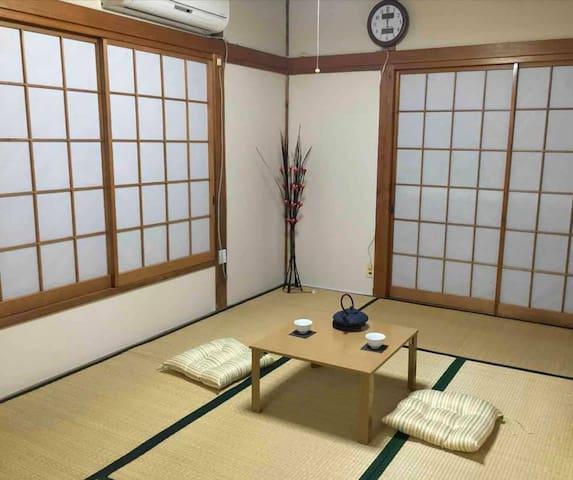 日本伝統的な畳部屋