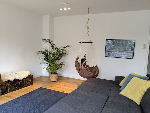 Spacious family apartment in central Leiden