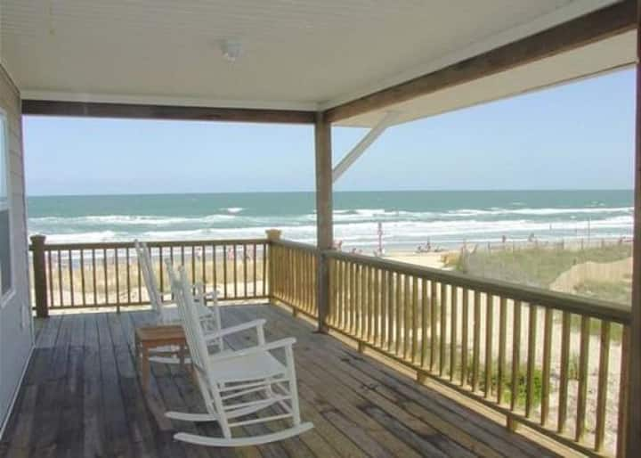 Barker, Upper Unit-Location, Location!  Steps Away From Ocean And Johnnie Mercers Pier!