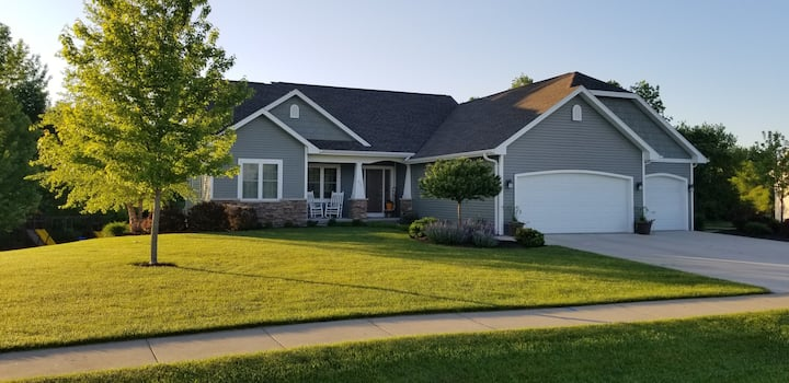 EAA friendly spacious new home in quitesubdivision