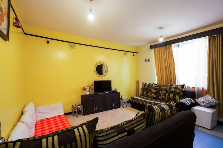 2bedroom, 7min to JKIA airport & 11min SGR station