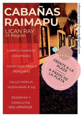 Cabañas Raimapu