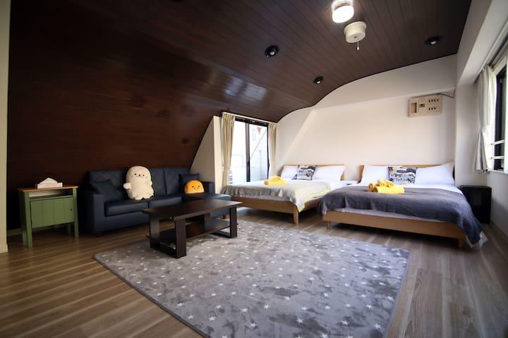 SG)Tokyo Nihonbashi Modern house*Free Pocket Wifi*