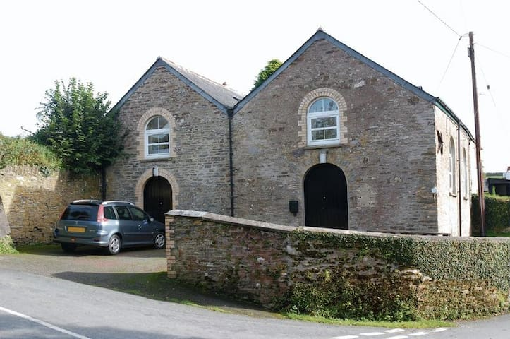 The Chapel, Lostwithiel. Great for families!