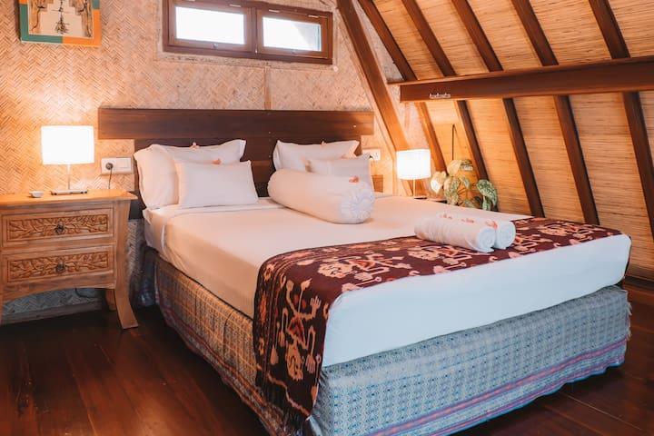 Bedroom villa payung