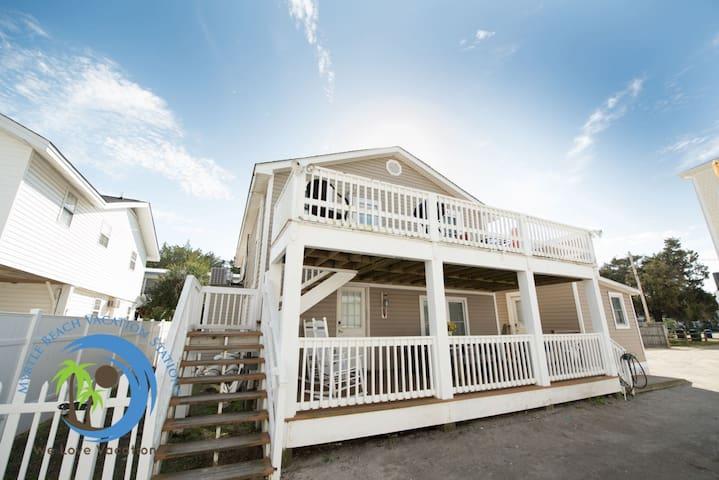 Cherry Grove Beach Cottage Down